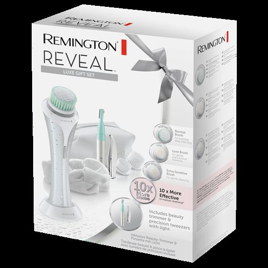 REMINGTON  FC1000GP Szczoteczka do oczyszczania twarzy REVEAL Luxe - zestaw prezentowy