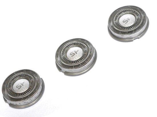 Shaver-Parts SH90 3 Głowice do golarki Philips SH90 serii S9XXX od S9000 do S999