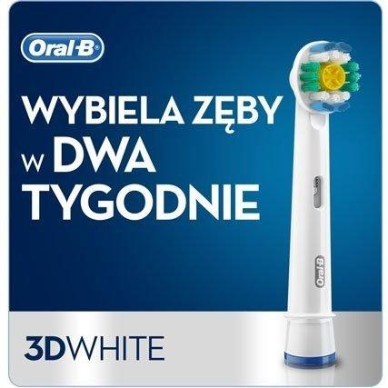 4 Końcówki ORAL-B 3D WHITE EB18P 100% ORYGINAŁ