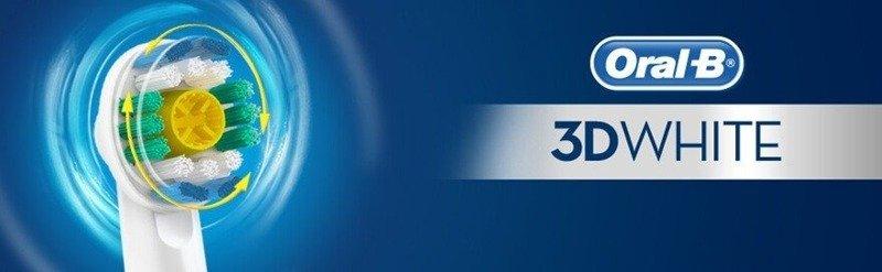 6 Końcówek ORAL-B 3D WHITE EB18P 100% ORYGINAŁ