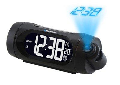 BLAUPUNKT CRP9BK Radio budzik z projektorem i ładowaniem USB