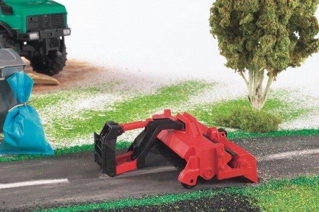BRUDER 02583 zamiatarka drogowa do ciągników aut