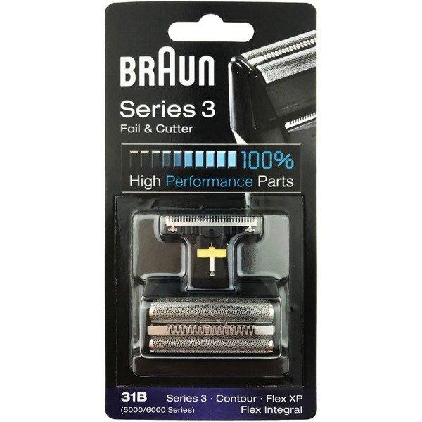 Braun 31B Folia + Nóż 5000/6000 Contour Flex XP II