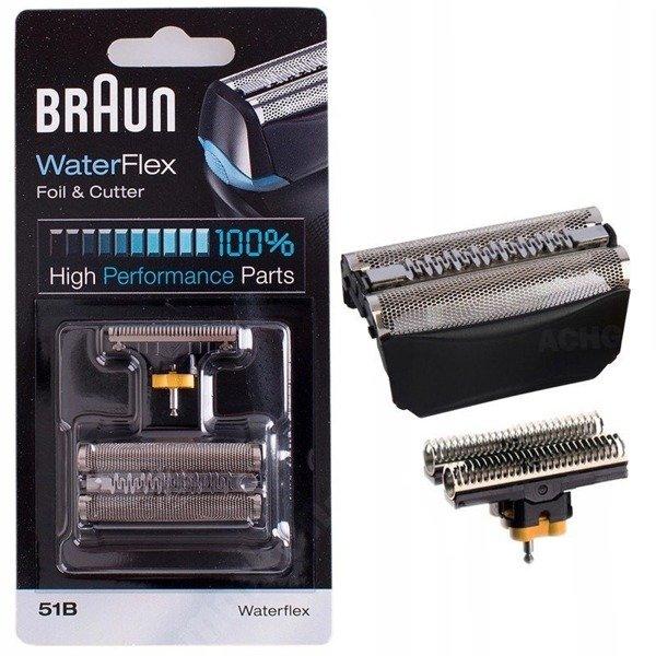 Braun Folia + Nóż 51B 8000 Series 5 czarna