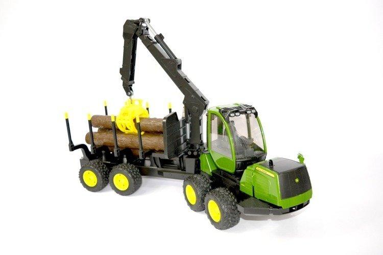 Bruder 02133 Forwarder maszyna leśna John Deere