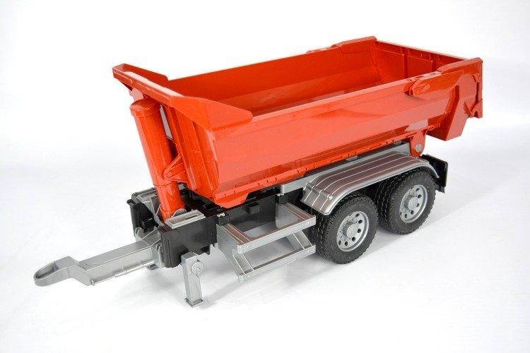Bruder 03923 przyczepa z wywrotem do ciężarówek