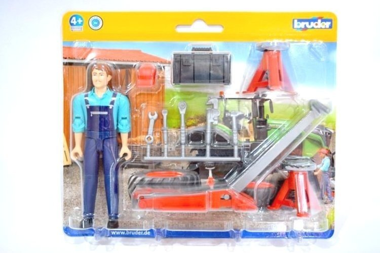 Bruder 62100 Figurka mechanika z akcesoriami