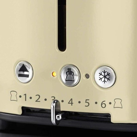 RUSSELL HOBBS 21682-56 TOSTER RETRO VINTAGE CREAM