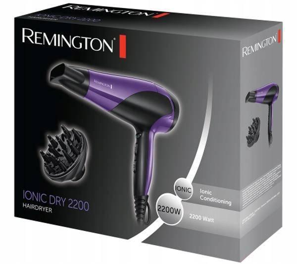 Remington  D3190 Suszarka z jonizacją 2200 W