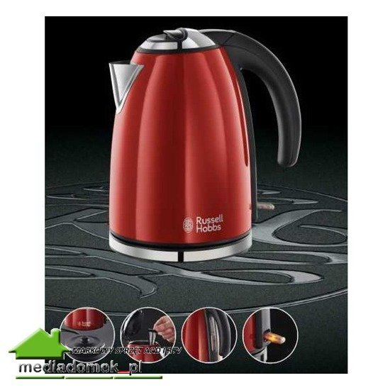 Russell Hobbs 18941-70 Colours Flame Red czajnik