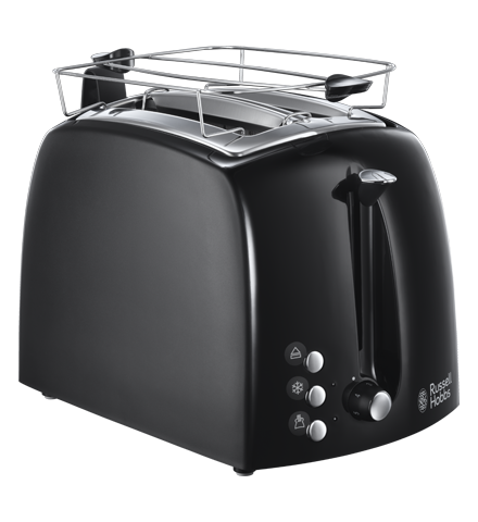 Russell Hobbs TOSTER TEXTURES PLUS 22601-56 Czarny