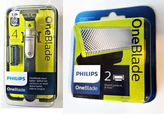 Zestaw PHILIPS QP2530/20 OneBlade + 2 wymienne ostrza QP220