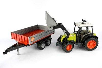 Bruder 02112 traktor Claas ładowacz przyczepa 24h