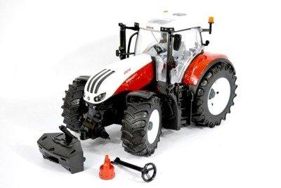 Bruder 03180 Traktor Steyr 6300 Odkręcane koła New