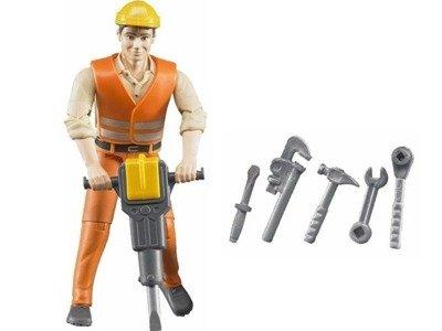 Bruder 60020 Figurka Robotnika z akcesoriami
