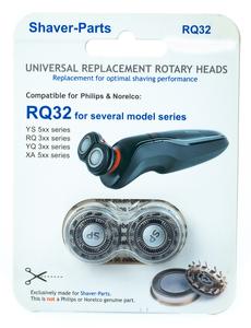 SHAVER-PARTS RQ32 Ostrza zamienię do golarek Philips YS5XX RQ3XX YQ3XX XA5XX