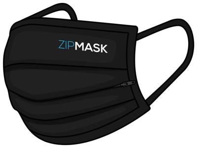 ZipMask Maseczka ochronna JEDZ i PIJ bezpiecznie